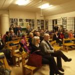 Matinean yleisöä